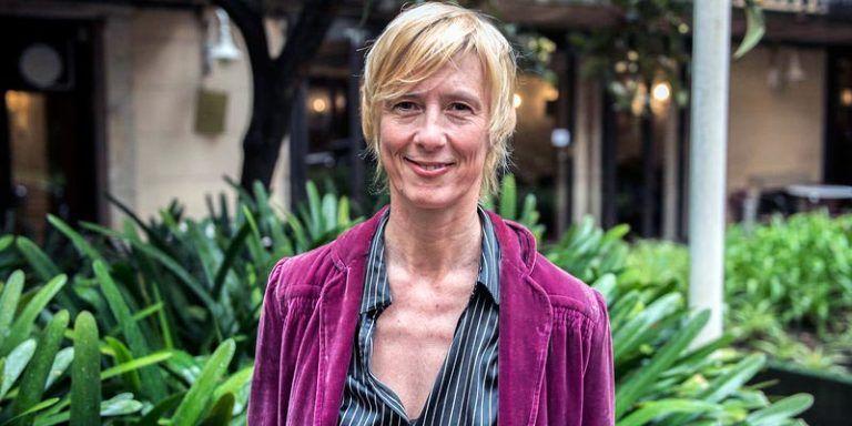 L'escriptora Patricia Almarcegui