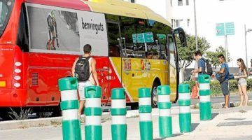 L'ús del transport públic aumenta en 2016