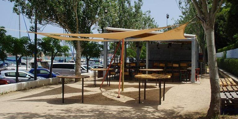 El nou quiosc de la zona de S'Hort Nou del Port de Maó