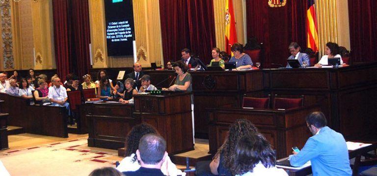 El Parlament en la Llei d'Igualtat d'homes i dones