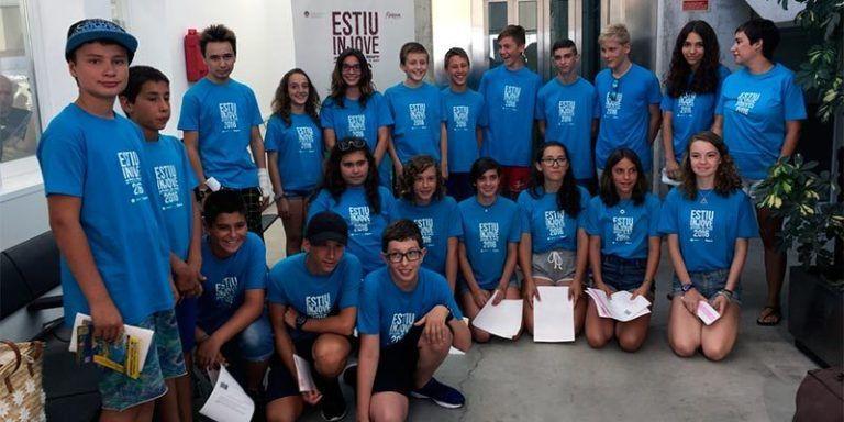 Participants a les colònies INJOVE a Mallorca