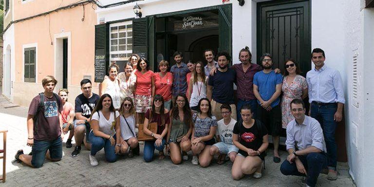 Participants de la Master Class de Cinema d'INJOVE 2016