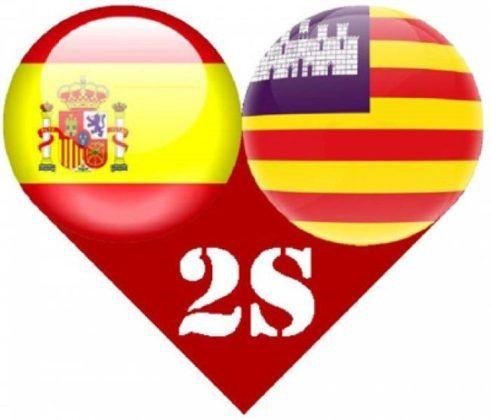 Manifestación contra el catalán