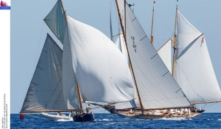 Veleros segunda regata XIII Copa del Rey