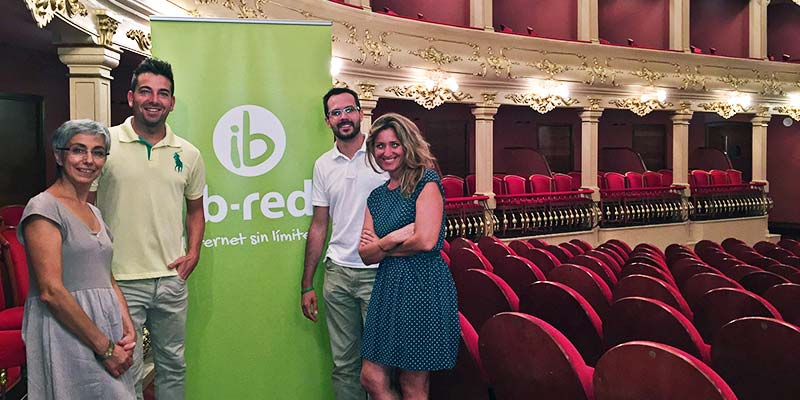 Acord entre el Teatre Principal i IB-RED