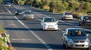La carretera general de Menorca