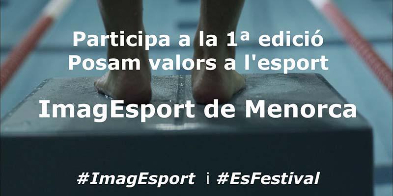 Cartell del Concurs ImagEsport Menorca