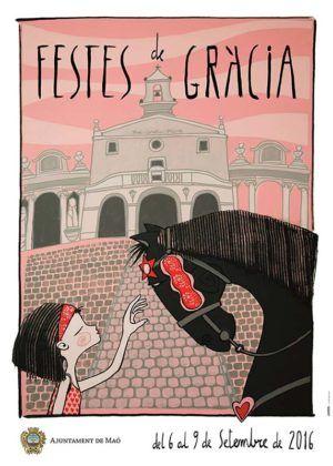 Cartell de les Festes de Gràcia 2016