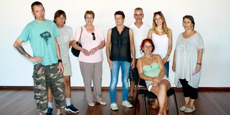 Participants del programa Corporacions Locals Visibles de Sant Lluís