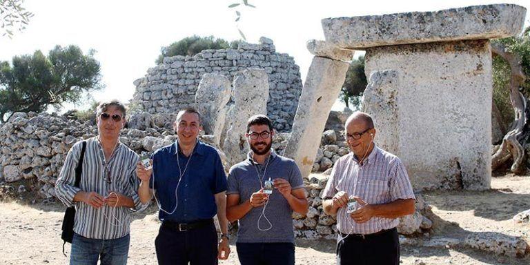 Presentació de les audiguies dels jaciments de la Menorca Talaiòtica
