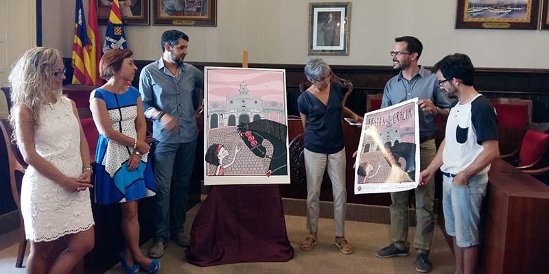 Presentació cartell de les Festes de Gràcia 2016