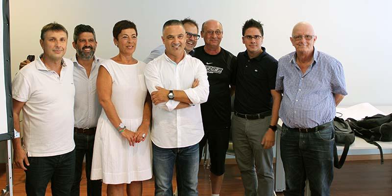 Rafael Crespí y su equipo