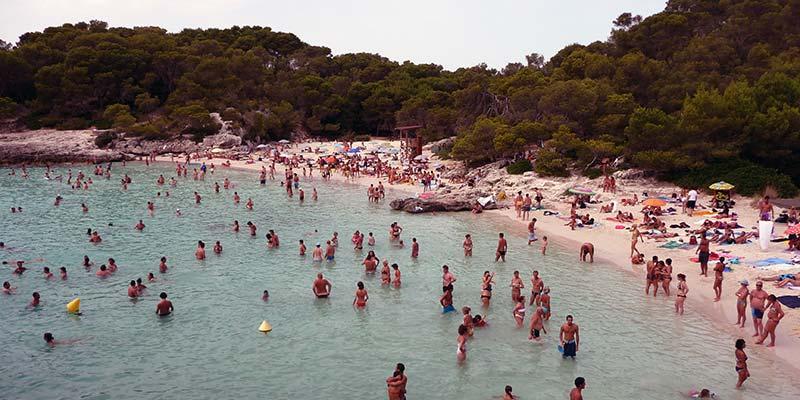 Turismo en las playas de las Islas Baleares