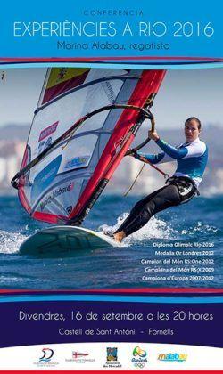 Cartell de la conferència de Marina Alabau