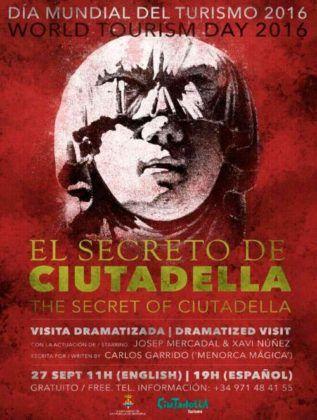 """Cartell """"El Secret de Ciutadella"""""""