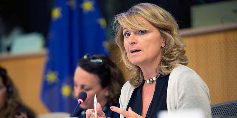La eurodiputada Rosa Estaràs