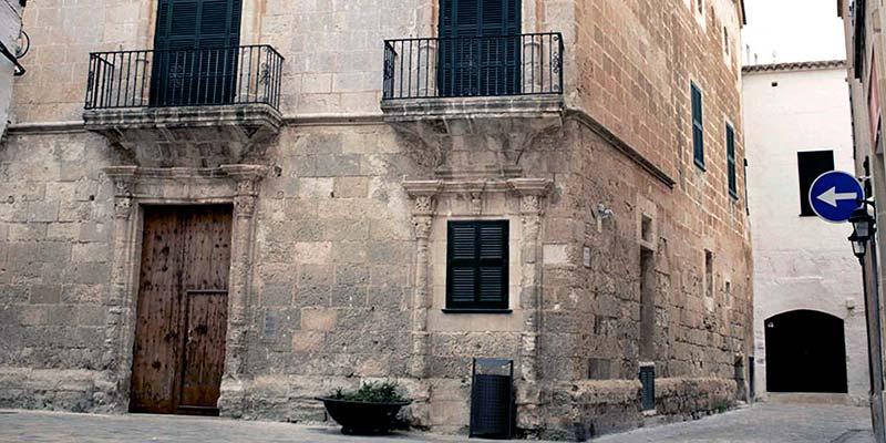 El Palau Can Saura, a Ciutadella de Menorca