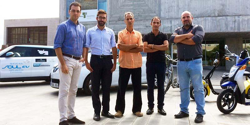 Presentació del vehicle elèctric al Consell Insular de Menorca