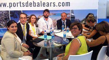 """El primer tinent d'alcaldia, Vicenç Tur, a la fira """"Seatrade, Cruise, Med"""""""
