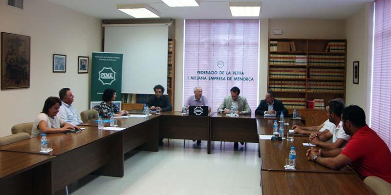 Reunió ASMEN amb el conseller Marc Pons