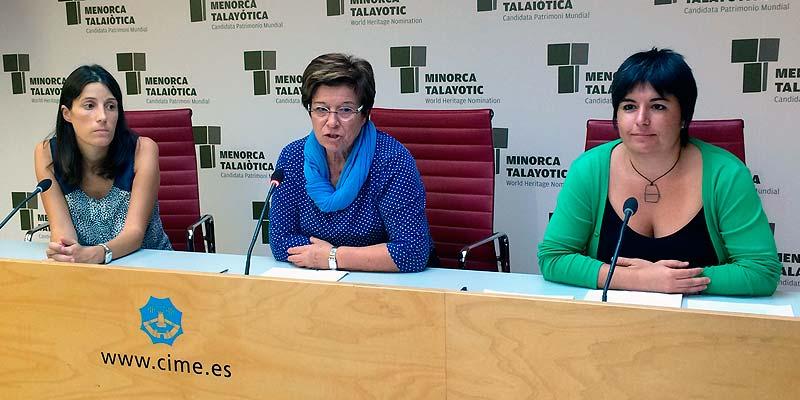 Bàrbara Torrent, María Cabrisas y Laia Obrador