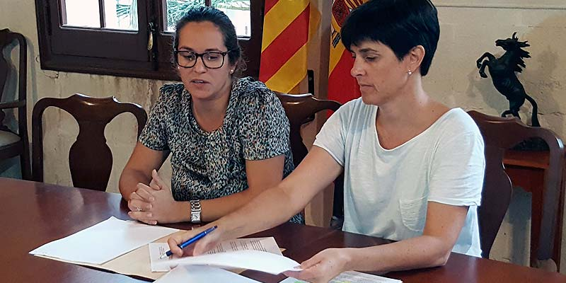 Susana Mora y Joana Gomila