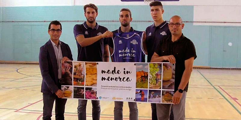 El Consell Patrocina el Bàsquet Menorca