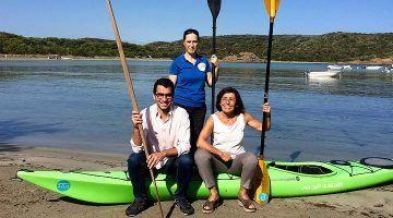 40 participants a les Jornades Menorca en Kayak