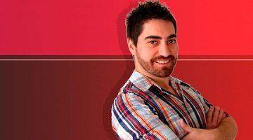 El periodista Óscar Checa de RNE visita Menorca