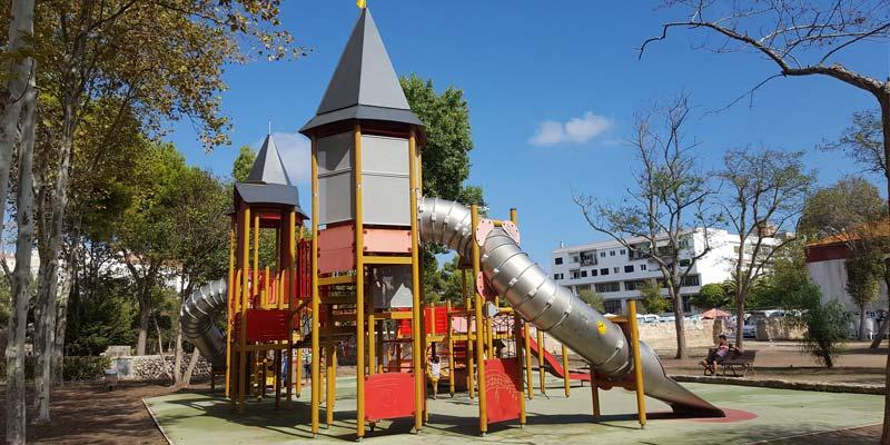 Rocódromo Infantil parque Es Fregigal