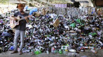 Concert de Leon Manso a favor del reciclatge