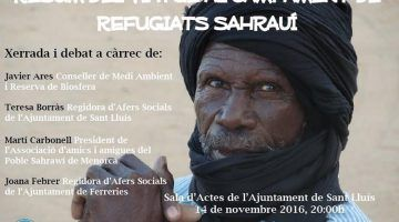 Viatge al camp de refugiats saharauis