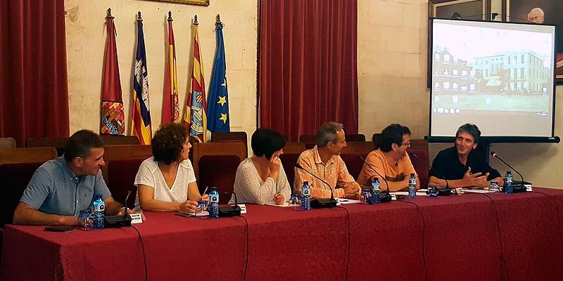 Diputación General de Guipúzcua en Ciutadella