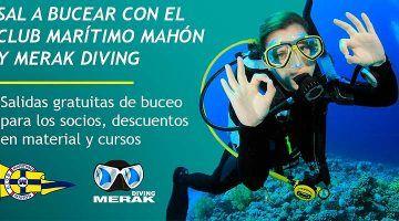 El CM Mahón ofrece actividades subacuáticas