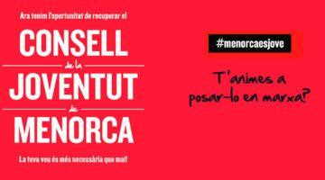 Recuperació del Consell de la Joventut de Menorca