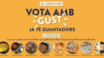"""El concurs """"vota amb gust"""" ja té 8 receptes guanyadores"""