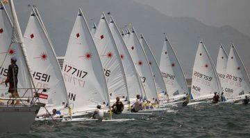 Campeonato de Baleares de láser radial en Maó