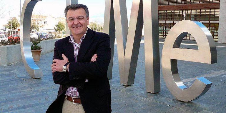 Santiago Tadeo delante del CIMe