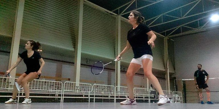 Esther Seguí y Julia Florit - Segunda Jornada Interclubes Badminton