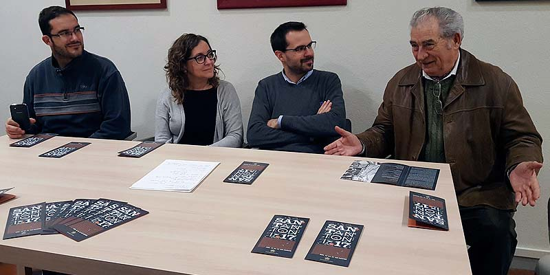 Victor Pons, Maria Membrive, Héctor Pons y Juan Cubas