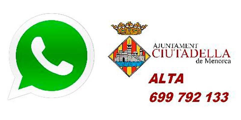 WhatsApp Ciutadella de Menorca