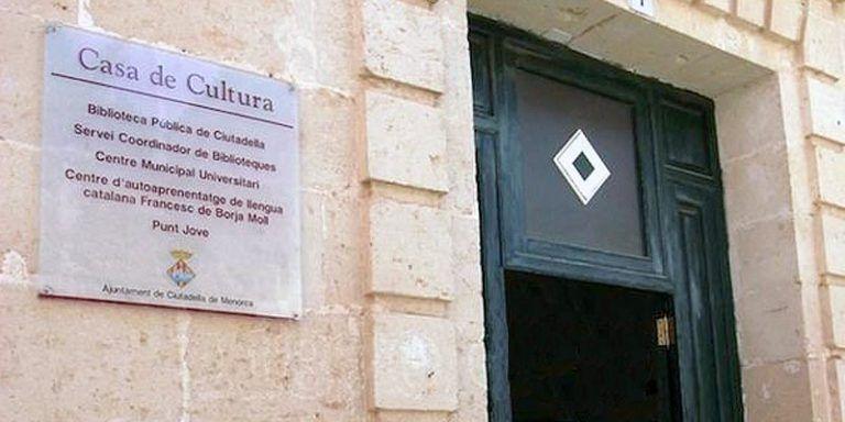 Casa de Cultura - Ciutadella de Menorca