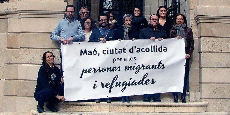 Máo Ciutat acollida refugiats