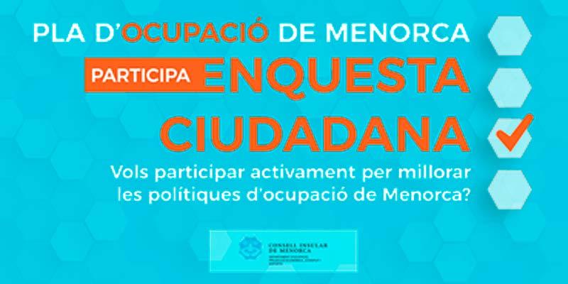 Pla d'ocupació Menorca