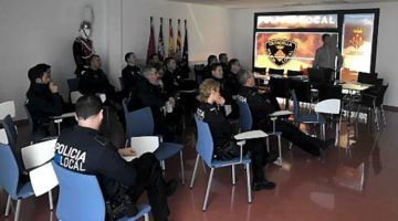 La Policia Local desplega un pla de formació permanent