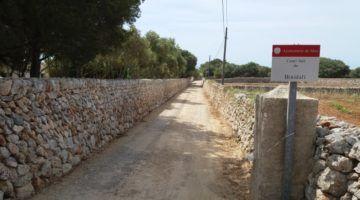 Maó arranja diversos camins municipals
