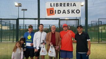 Gran éxito del XIV Torneo de Pádel Didasko