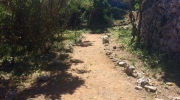 Nou accés al poblat talaiòtic de Trepucó