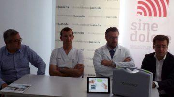 Juaneda, primer hospital del país con el sistema Zalviso