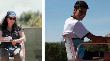 Berini y Oleano, jueces de línea del WTA Mallorca Open